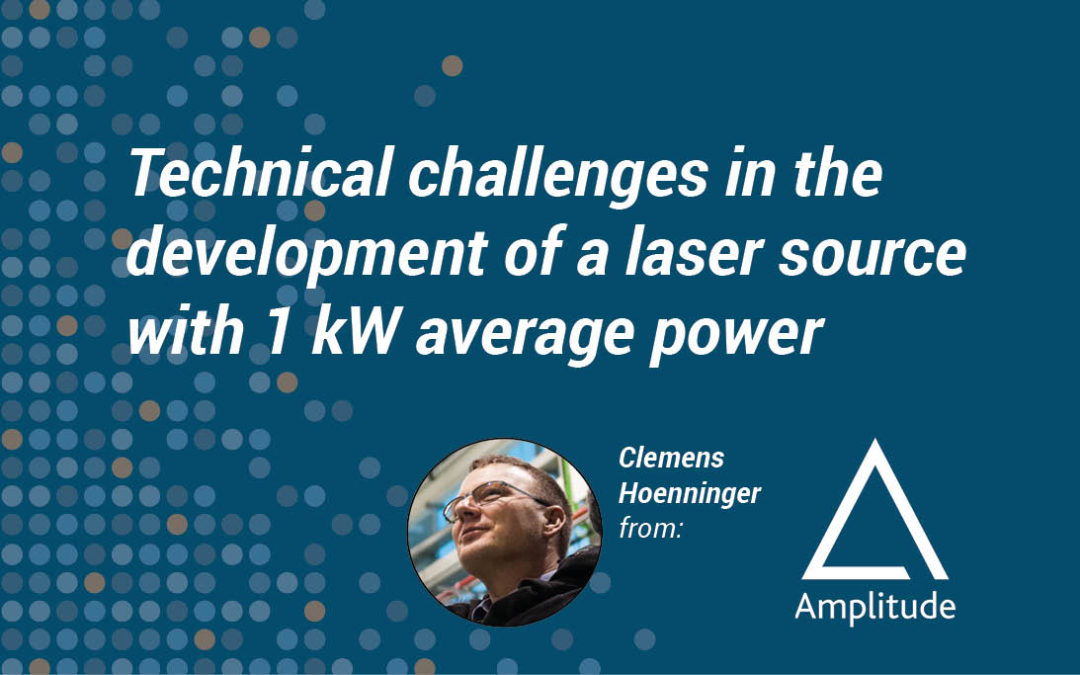 Technical challenges in the development of a laser source with 1 kW average power