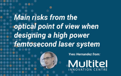 Main risks from the optical point of view when designing a high power femtosecond laser system